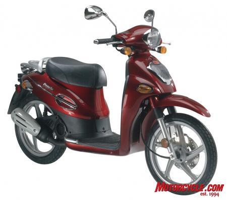 2010 Kymco People 50 Studio
