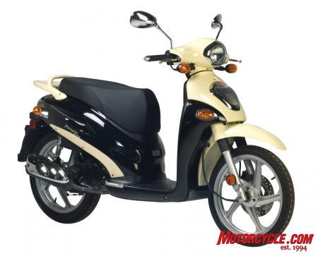 2010 Kymco People 150 Studio