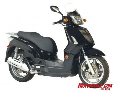 2010 Kymco People S 250 Studio