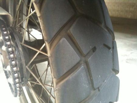 Pirelli MT90 rear at 6500miles
