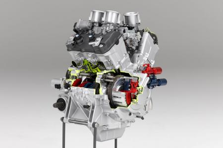 Honda VFR Engine-rear