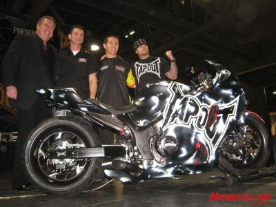 TapOut was a significant part of the Long Beach IMS.