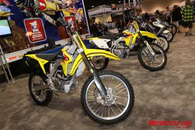 Some of the bigger news from Suzuki for 2010 is a new off-road model.