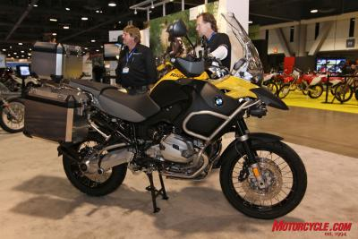 BMW's R1200GS Adventure joins the RT in getting new double-overhead cam