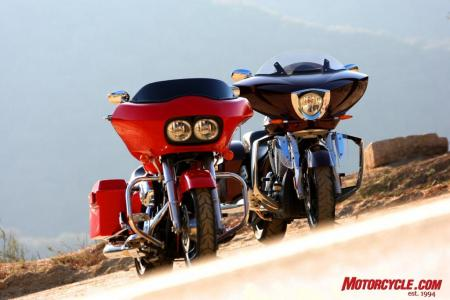 RoadGlide CrossCountry Comparo FONZ6003