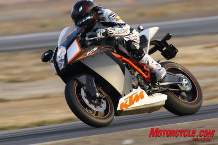 In the RC8R, KTM has delivered a sophisticated and capable sportbike that can hang with any of the established players from around the world.