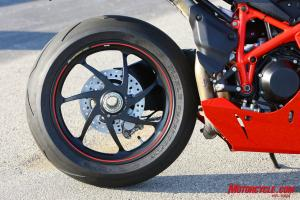 Nothing makes the back end of a superbike look as sexy as a single-sided swingarm. Ducati�s been using them for years.