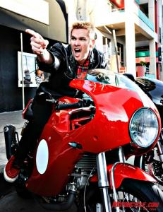 Mark McGrath, singer from the band Sugar Ray.