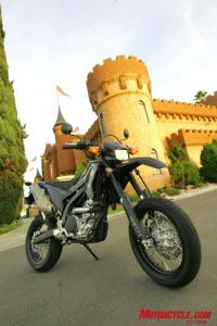 King of the quarter-liter supermoto castle.