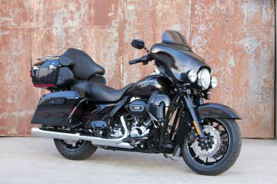 Harley-Davidson introduced a new black version of the CVO Ultra Classic Electra Glide.