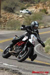 If supermoto fantasies live in your dreams, the Hypermotard is a willing accomplice.