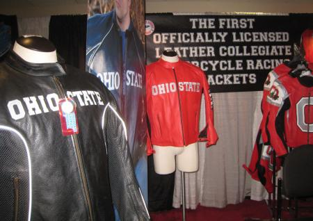 Furian Leathers is capitalizing on the popularity of college sports with its new line of jackets.