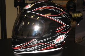 Bell Powersports showed off its new Vortex helmet, a Snell 2010-approved lid starting at just $169.