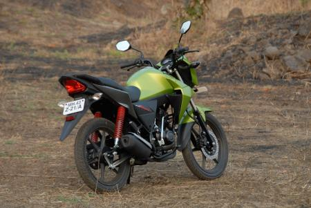 The Honda CB Twister retails in India for the equivalent of $1,050 USD.