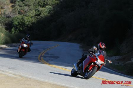With the emergence of the VFR1200F, the sportbike/S-T hybrid class has a new pecking order.