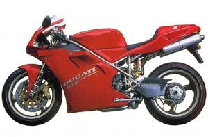 Robbiano worked on the Ducati 916 with Massimo Tamburini.