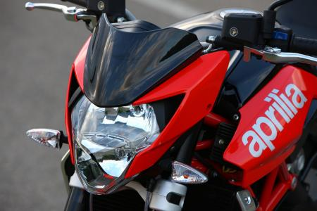 A new small fairing offers a little more wind protection.