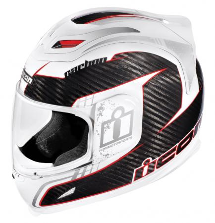 Icon's Airframe helmet gets updated for 2010 with a lightweight carbon-fiber version, the Carbon Lifeform.