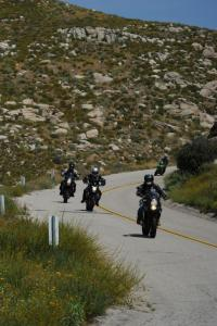 Kawasaki�s Jeff Herzog shows a bunch of motojournos how to let the good times roll.