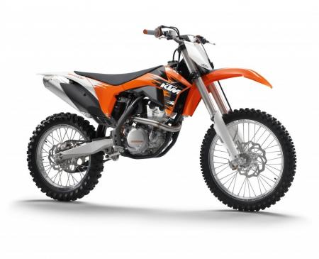 The KTM 350SX-F is said to offer the performance of a 450 but the handling of a 250.