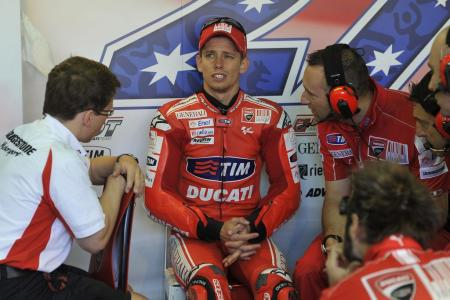 Casey Stoner already has two DNFs this season, equalling the total number he had in the previous three seasons combined.