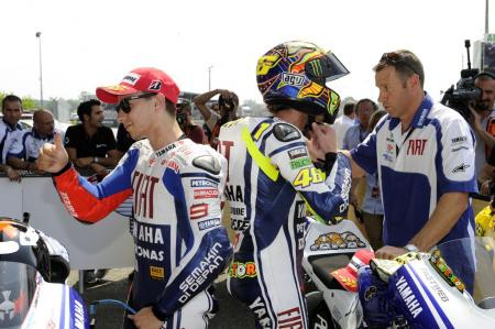 Jorge Lorenzo and Valentino Rossi are once again on top of the MotoGP standings, but this time it looks like Lorenzo's got the edge.