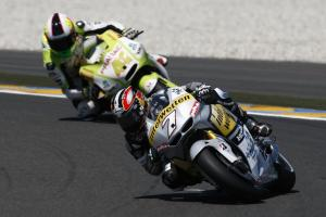 Hiroshi Aoyama (7) and Aleix Espargaro (41) are among the promising rookie talents from the 250cc class.