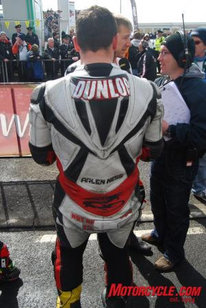 Carrying the name Dunlop on your back is no light burden.