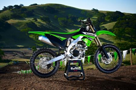 According to Kawasaki, the KX250F has received 30 new updates for 2011.