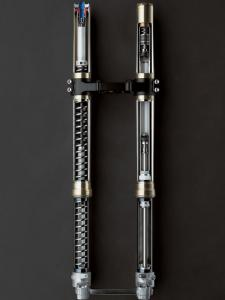 The Separate Function Fork system splits spring and damping functions.