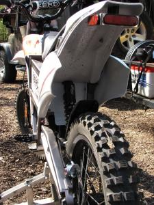 The Zero is a 7/8 scale dirt bike. It is a vast improvement over previous Zeros in ergonomics and overall fit and finish.
