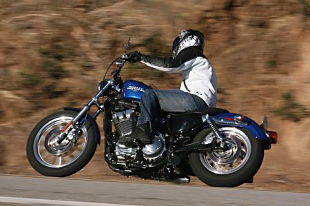 2010 Harley-Davidson Sportster 883 Low Action_Left