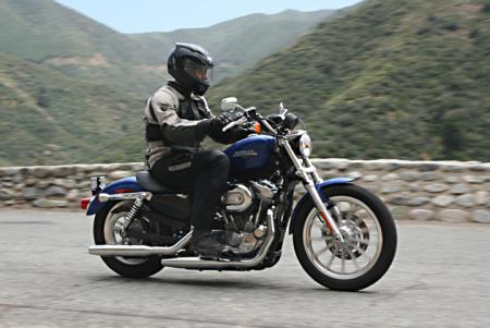 2010 Harley-Davidson Sportster 883 Low Action_Right
