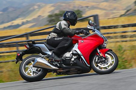 This 45-year-old pilot is directly within Honda's target demographic for the 2010 VFR1200F, and he wished he had a week to play on it instead of only a day.