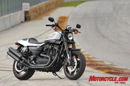 Back on home soil: the 2011 Harley-Davidson XR1200X.