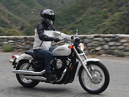 Honda Shadow RS Action_Right