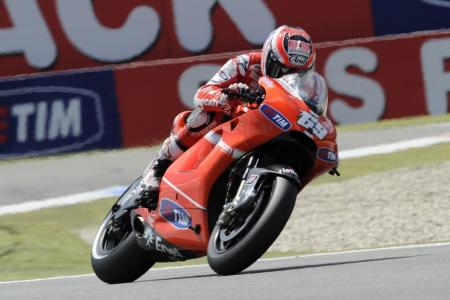 Nicky Hayden finished seventh in Assen, ceding his usual fourth-place position to fellow American Ben Spies.