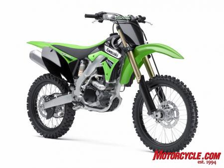 Don't let the conservative looks fool you. The 2011 KX250F has been substantially updated in nearly every aspect of performance.