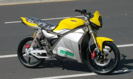 Prepped for shipment, an Electric Motorsport version looks sharp in bright yellow. (Photo courtesy of Native Cycles.)