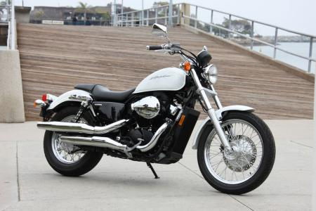 Honda's Shadow RS is a smart pick for a first bike.
