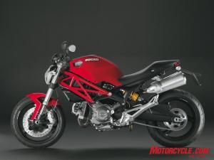 Ducati�s Monster 696 grants easy access to the world of motorcycling and the world of Ducati.