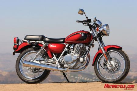 If any current motorcycle has to be pegged as posterboy for a beginner�s bike, the TU250 from Suzuki might be our pick.