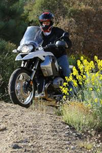 The GS is almost as adept in off-road environs as it is on the road.