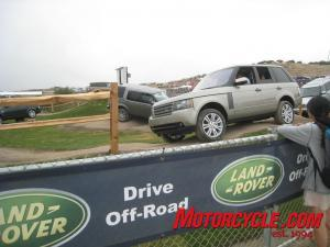 It was good to see outside-the-industry displays at the USGP, including this Land Rover driving range.