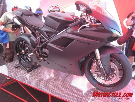 The Ducati 848 EVO gets more power and improved brakes for the same price as 2010 models.