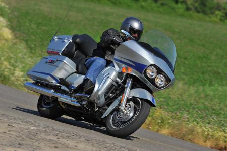 The Road Glide Ultra is Harley-Davidson's latest addition to its line of touring models.
