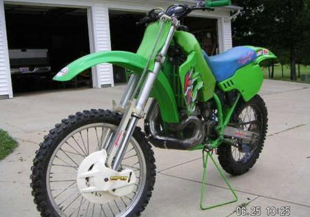 1991 KX500. Some called it the ping king, but it was unbreakable and fast.