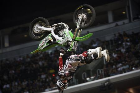 X Games 16 Best Trick KawiBike