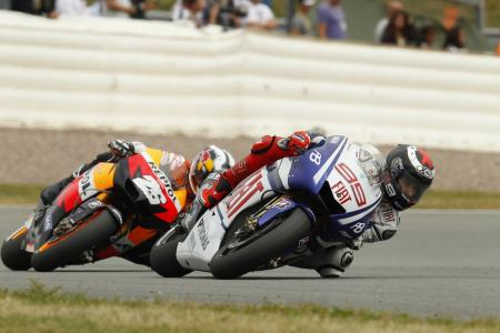 Dani Pedrosa gave it a shot but Jorge Lorenzo was once again unstoppable.