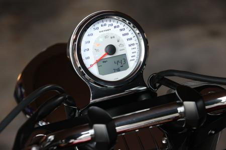 This tidy gauge is a nice update for Victory cruisers and the Cross Roads.